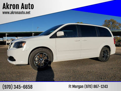 2017 Dodge Grand Caravan for sale at Akron Auto in Akron CO