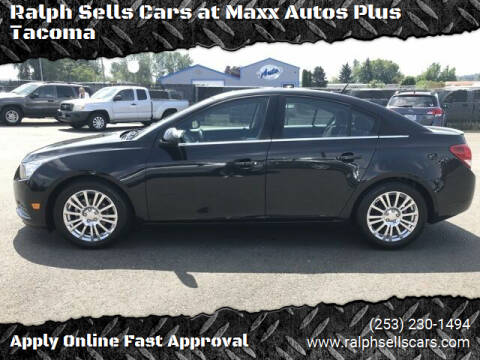 2013 Chevrolet Cruze for sale at Ralph Sells Cars at Maxx Autos Plus Tacoma in Tacoma WA