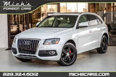 2012 Audi Q5 for sale at Mich's Foreign Cars in Hickory NC