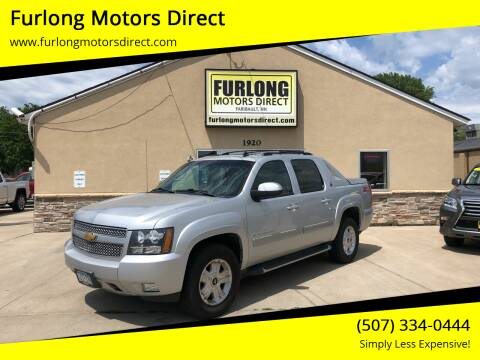 2013 Chevrolet Avalanche for sale at Furlong Motors Direct in Faribault MN