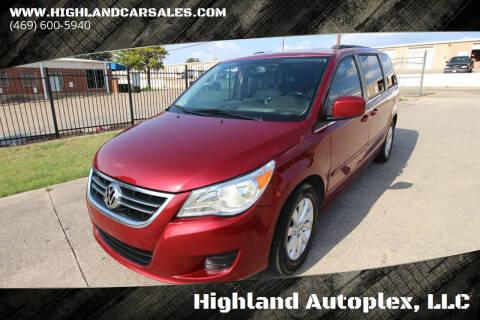 2012 Volkswagen Routan for sale at Highland Autoplex, LLC in Dallas TX