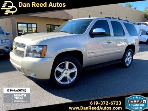 2013 Chevrolet Tahoe for sale at Dan Reed Autos in Escondido CA