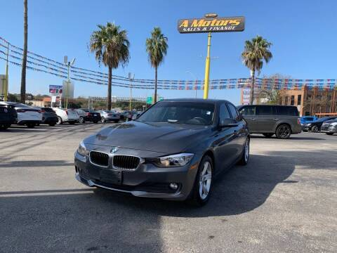 2014 BMW 3 Series for sale at A MOTORS SALES AND FINANCE in San Antonio TX