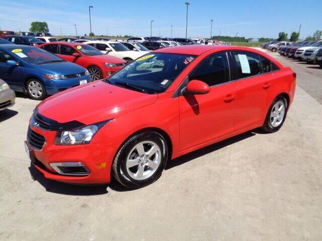 2015 Chevrolet Cruze for sale at De Anda Auto Sales in Storm Lake IA