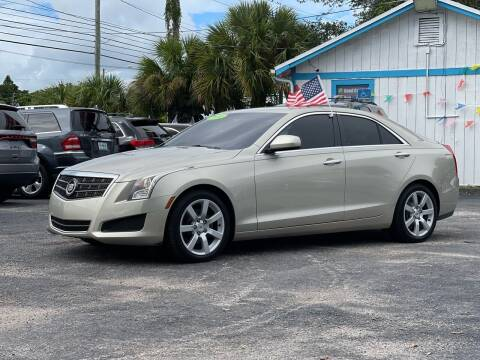 2014 Cadillac ATS for sale at Bargain Auto Sales in West Palm Beach FL