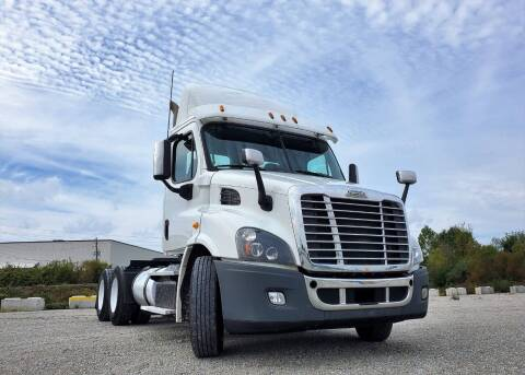 2015 Freightliner Cascadia 113 Automatic Day Cab for sale at A F SALES & SERVICE in Indianapolis IN