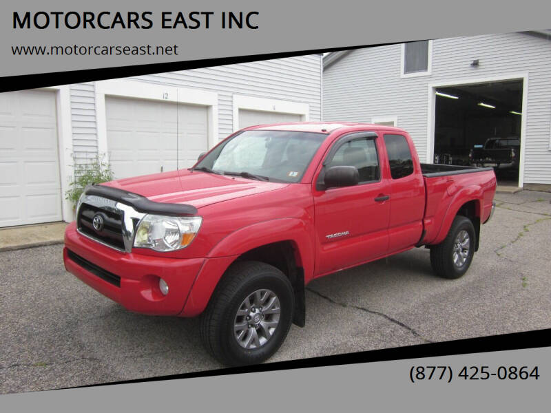 2008 Toyota Tacoma for sale at MOTORCARS EAST INC in Derry NH