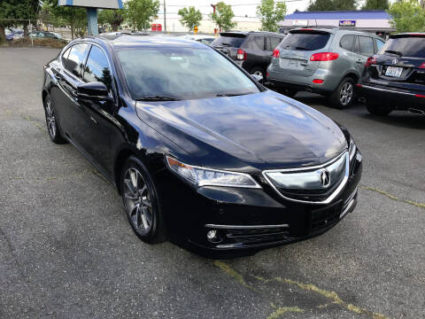 2015 Acura TLX for sale at Autos Cost Less LLC in Lakewood WA