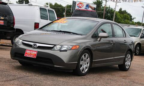 2007 Honda Civic for sale at SOLOMA AUTO SALES in Grand Island NE