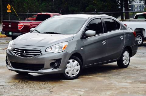 2017 Mitsubishi Mirage G4 for sale at Marietta Auto Mall Center in Marietta GA