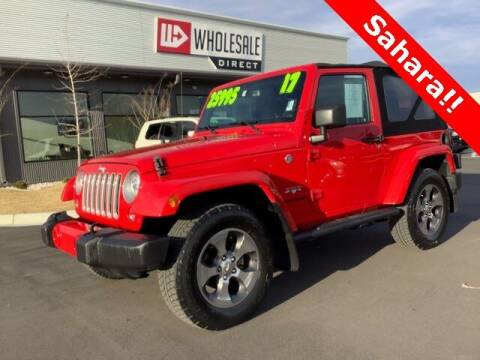 2017 Jeep Wrangler for sale at Wholesale Direct in Wilmington NC