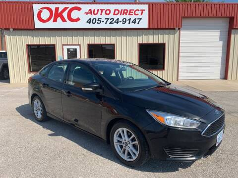 2015 Ford Focus for sale at OKC Auto Direct in Oklahoma City OK