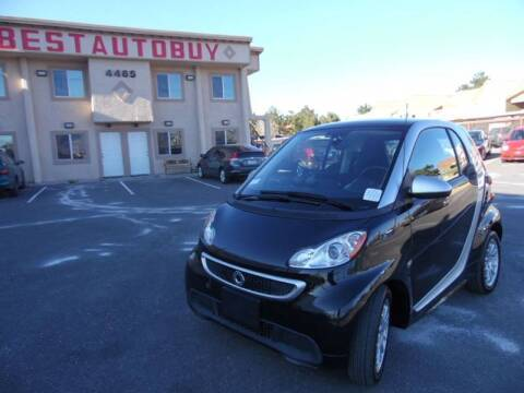 2013 Smart fortwo electric drive for sale at Best Auto Buy in Las Vegas NV