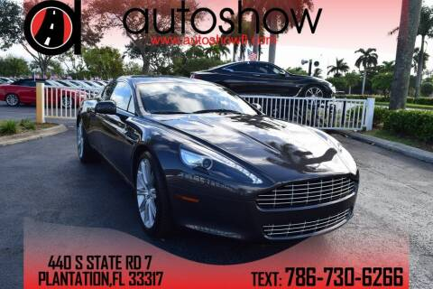 2011 Aston Martin Rapide for sale at AUTOSHOW SALES & SERVICE in Plantation FL