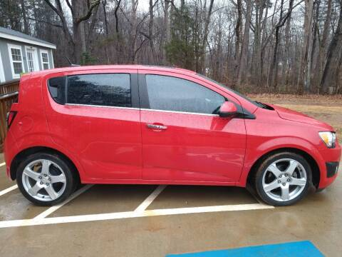2013 Chevrolet Sonic for sale at Route 150 Auto LLC in Lincolnton NC