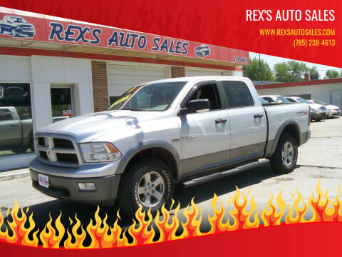 2009 Dodge Ram Pickup 1500 for sale at Rex's Auto Sales in Junction City KS