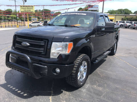 2014 Ford F-150 for sale at IMPALA MOTORS in Memphis TN
