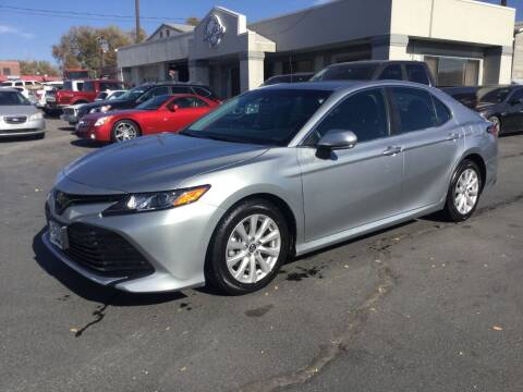 2018 Toyota Camry for sale at Beutler Auto Sales in Clearfield UT