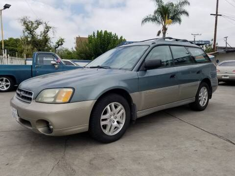2001 Subaru Outback for sale at Olympic Motors in Los Angeles CA