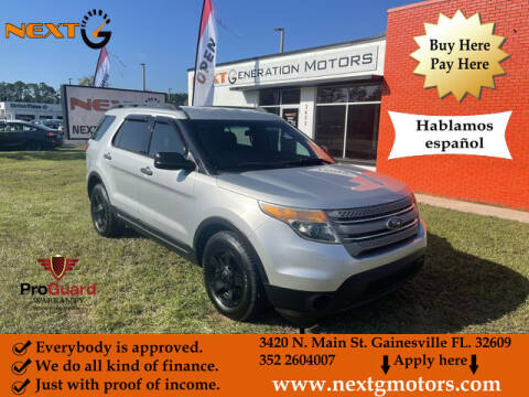 2014 Ford Explorer for sale at Next G Motors in Gainesville FL