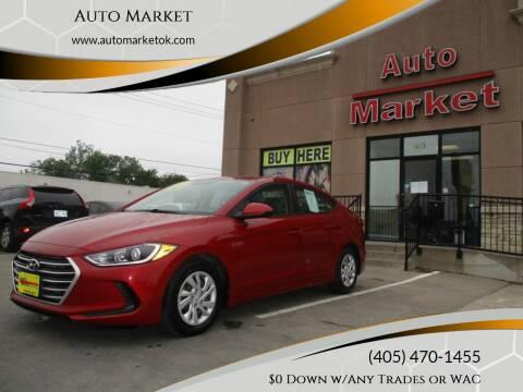2017 Hyundai Elantra for sale at Auto Market in Oklahoma City OK