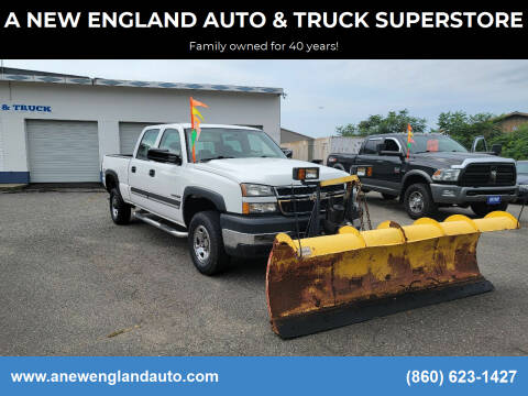 2007 Chevrolet Silverado 2500HD Classic for sale at A NEW ENGLAND AUTO & TRUCK SUPERSTORE in East Windsor CT