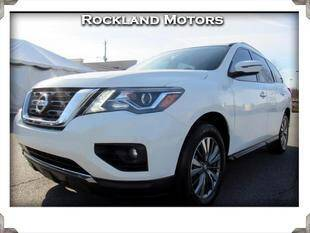 2020 Nissan Pathfinder for sale at Rockland Automall - Rockland Motors in West Nyack NY