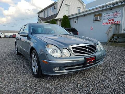 2005 Mercedes-Benz E-Class for sale at Reyes Automotive Group in Lakewood NJ
