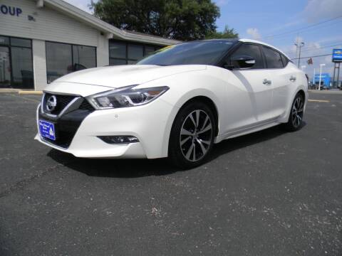 2018 Nissan Maxima for sale at MARK HOLCOMB  GROUP PRE-OWNED in Waco TX