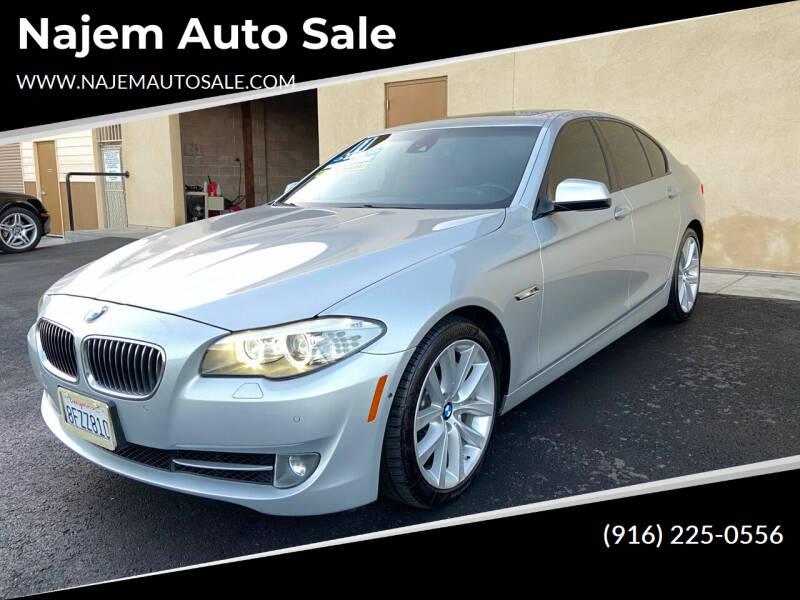 2011 BMW 5 Series for sale at Najem Auto Sale in Sacramento CA