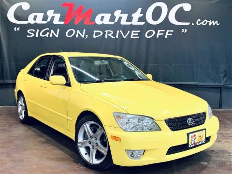 2002 Lexus IS 300 for sale at CarMart OC in Costa Mesa, Orange County CA