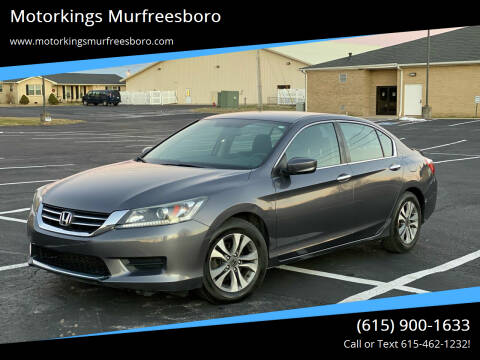 2015 Honda Accord for sale at Motorkings Murfreesboro in Murfreesboro TN