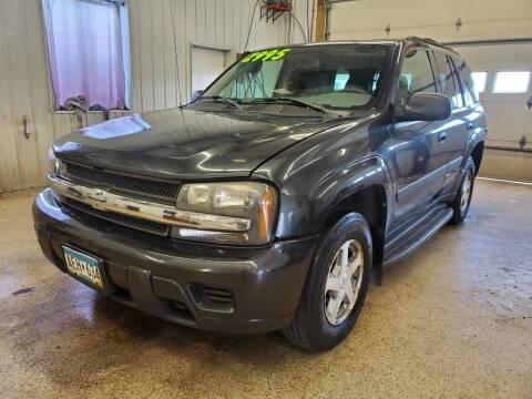 2005 Chevrolet TrailBlazer for sale at Sand's Auto Sales in Cambridge MN
