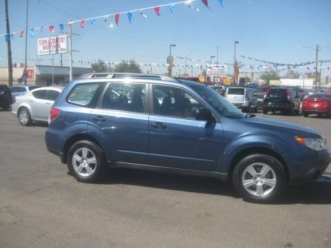 2011 Subaru Forester for sale at Town and Country Motors - 1702 East Van Buren Street in Phoenix AZ