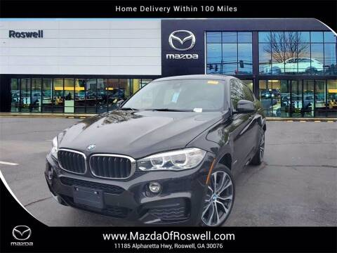 2018 BMW X6 for sale at Mazda Of Roswell in Roswell GA