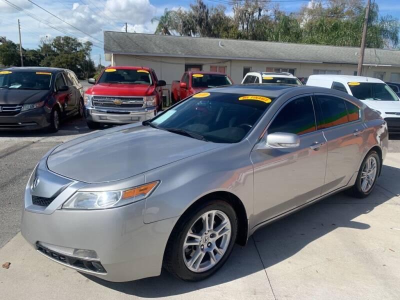 2010 Acura TL for sale at Galaxy Auto Service, Inc. in Orlando FL