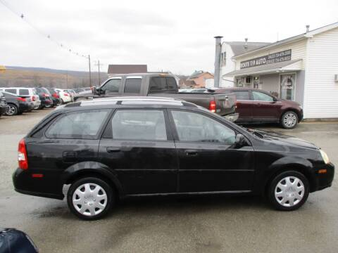 2005 Suzuki Forenza for sale at ROUTE 119 AUTO SALES & SVC in Homer City PA