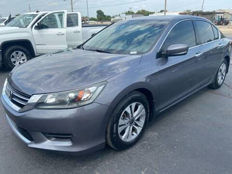 2015 Honda Accord for sale at Kasterke Auto Mart Inc in Shawnee OK