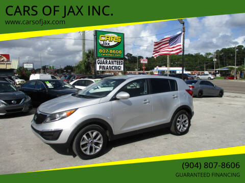 2016 Kia Sportage for sale at CARS OF JAX INC. in Jacksonville FL