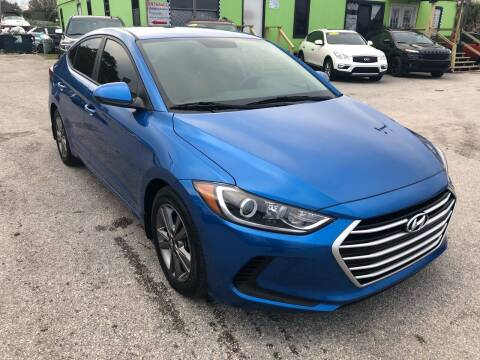 2017 Hyundai Elantra for sale at Marvin Motors in Kissimmee FL