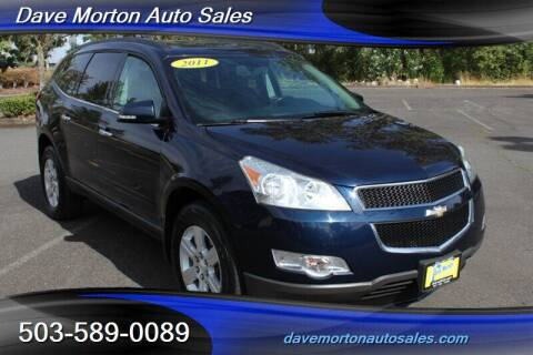 2011 Chevrolet Traverse for sale at Dave Morton Auto Sales in Salem OR