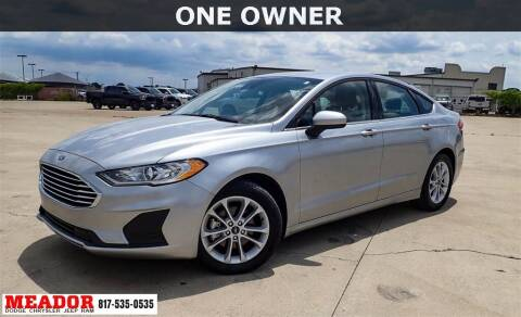 2020 Ford Fusion for sale at Meador Dodge Chrysler Jeep RAM in Fort Worth TX