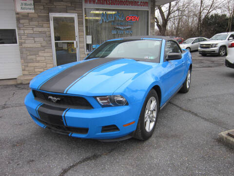 2011 Ford Mustang for sale at Marks Automotive Inc. in Nazareth PA