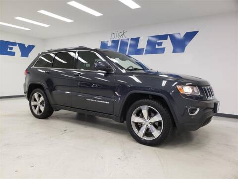 2016 Jeep Grand Cherokee for sale at HILEY MAZDA VOLKSWAGEN of ARLINGTON in Arlington TX