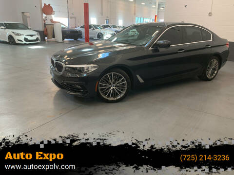 2017 BMW 5 Series for sale at Auto Expo in Las Vegas NV