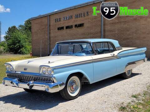 1959 Ford Fairlane 500 for sale at I-95 Muscle in Hope Mills NC