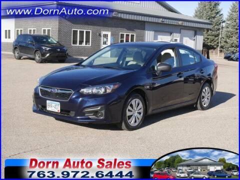 2019 Subaru Impreza for sale at Jim Dorn Auto Sales in Delano MN