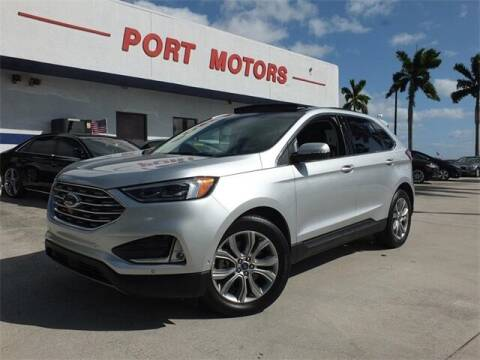 2019 Ford Edge for sale at Automotive Credit Union Services in West Palm Beach FL