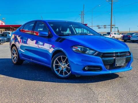 2015 Dodge Dart for sale at MAGNA CUM LAUDE AUTO COMPANY in Lubbock TX