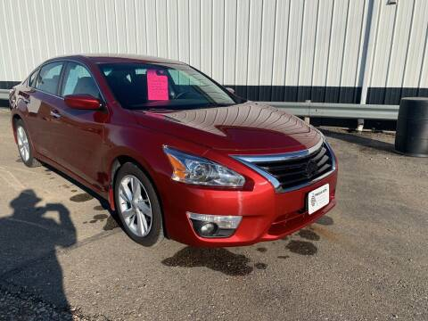 2015 Nissan Altima for sale at TRUCK & AUTO SALVAGE in Valley City ND